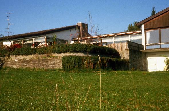 Humboldt-Haus Achberg, Ansicht von Poolseite