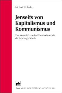 Buchcover 'Jenseits von Kapitalismus und Kommunismus'